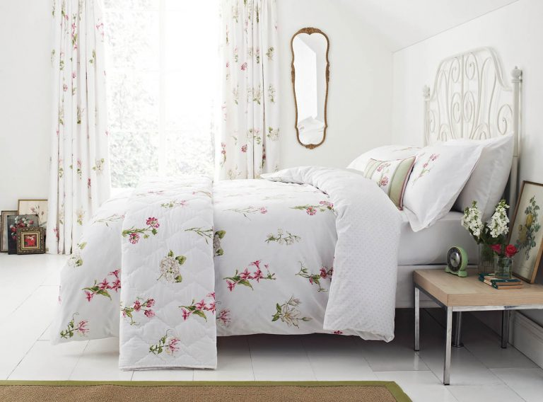 Sanderson Options Country Flowers Bedlinen 1400