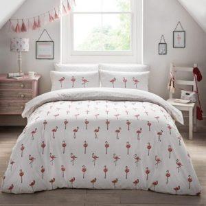 Sophie Allport Flamingos Duvet Cover Set