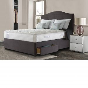 Sealy Alder Wool Deluxe 2 Drawer Divan Set-Mattress
