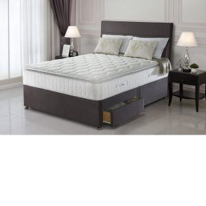 Sealy Messina Latex Pocket 1400 4 Drawer Divan Set/Mattress