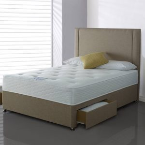 Highgrove Alpha Comfort 2 Drawer Divan Set/ Mattress