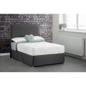 Dreamworld Phoebe 1000 Pocket 2 Drawer Divan Set / Mattress