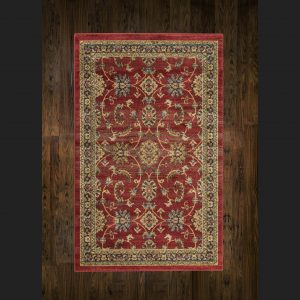 Ziegler Rug 347 Red/Black