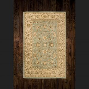Ziegler Rug 7709 Lt. Green/Cream