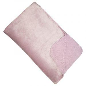 Malini Cosy Throw Dusky Pink