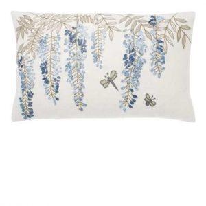 Walton Wisteria Cushion Blue