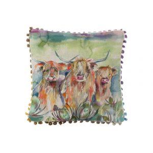 Voyage Heilan Herd 30×30 Arthouse Cushion