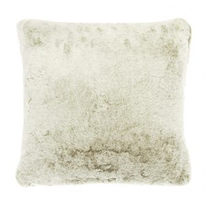 Walton & Co Faux Fur Cushion Caramel