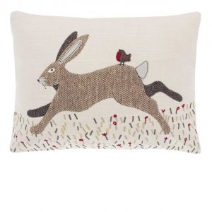 Walton & Co Hare Cushion