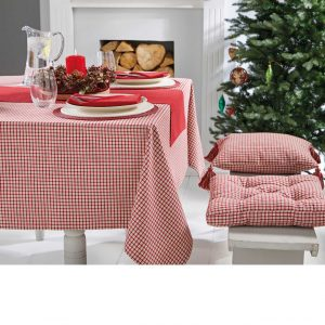 Walton & Co Bell Check Tablecloth