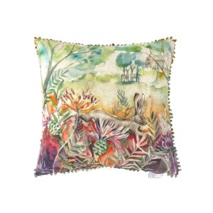 Voyage Hare And Thistles 50×50 Cushion