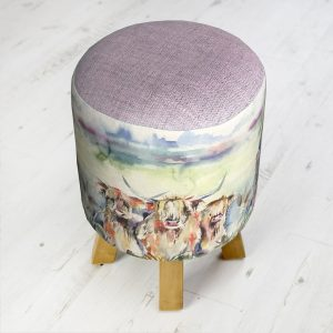 Voyage Highland Herd Monty Stool