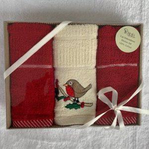 Riggs Boxed Robin Tea Towel Set