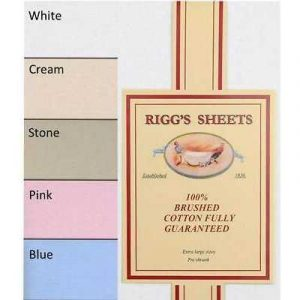 Riggs Superior Brushed Cotton Flannelette Sheets