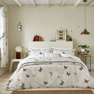 Sanderson Options Wisteria And Butterfly Duvet Cover Sets