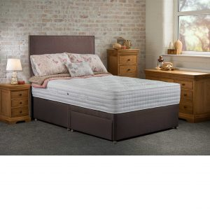 Sweet Dreams Sublime Natural 1500 2 Drawer Divan set/ Mattress