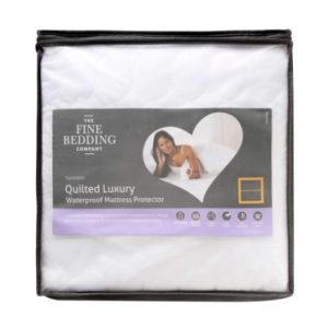 Fine Bedding Company Quilted Luxury Mattress Protector