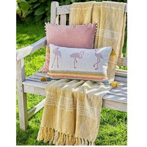Walton & Co Handloom Check Throw