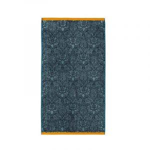 Teal Green Crown Imperial Luxury Towels by William Morris